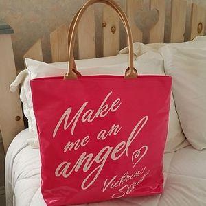 Victoria's Secret Pink Vinyl Tote - X-Lg.